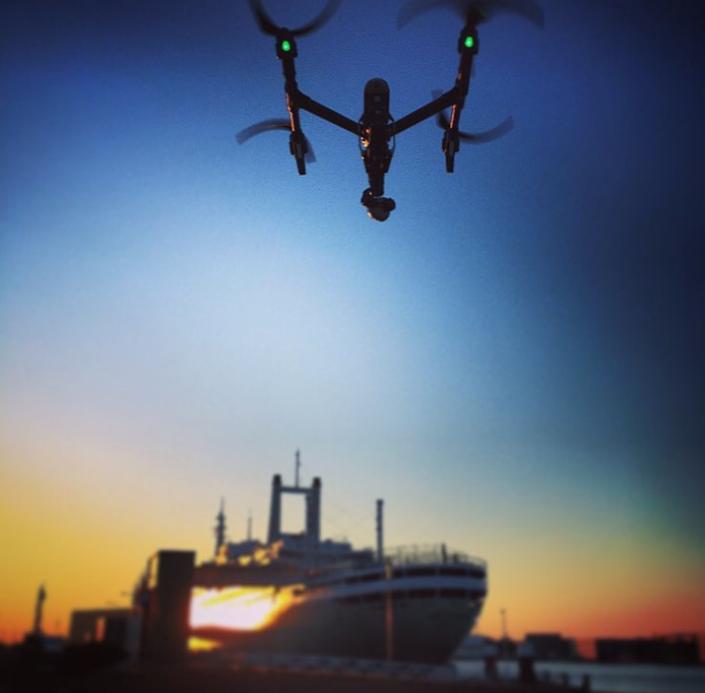 drone Rotterdam